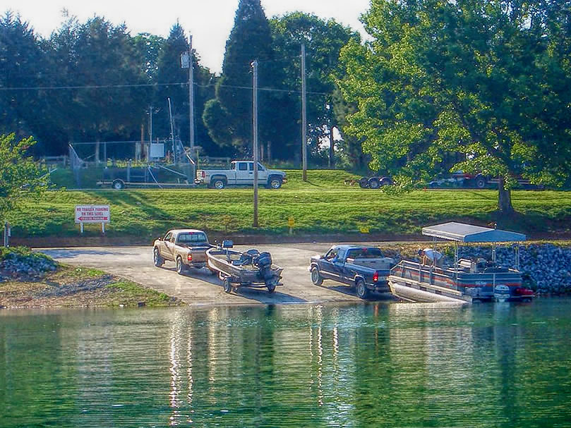 waterside marina at norris lake boat launch ramp