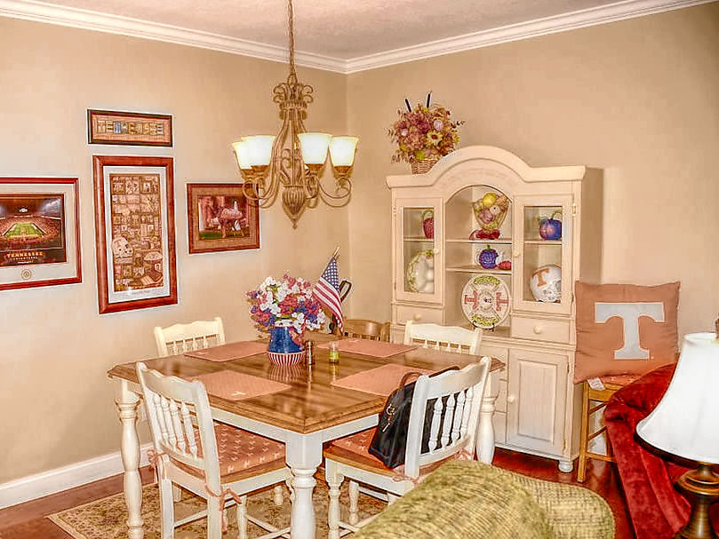Entertain friends or family in the dining room area